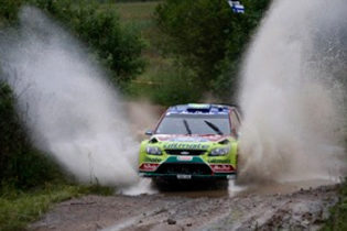 Ford wins Rally Poland with Pirelli Scorpian tires
