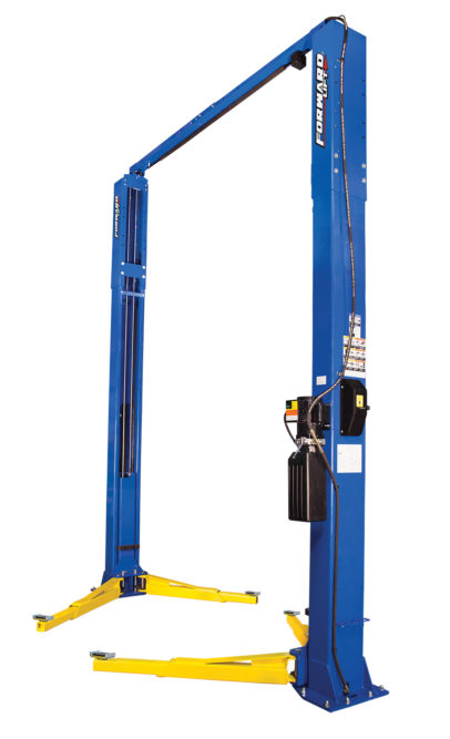Forward Lift Introduces a Heavy-Duty Two-Post Lift