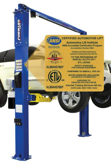 Forward Lift products earn ALI gold label