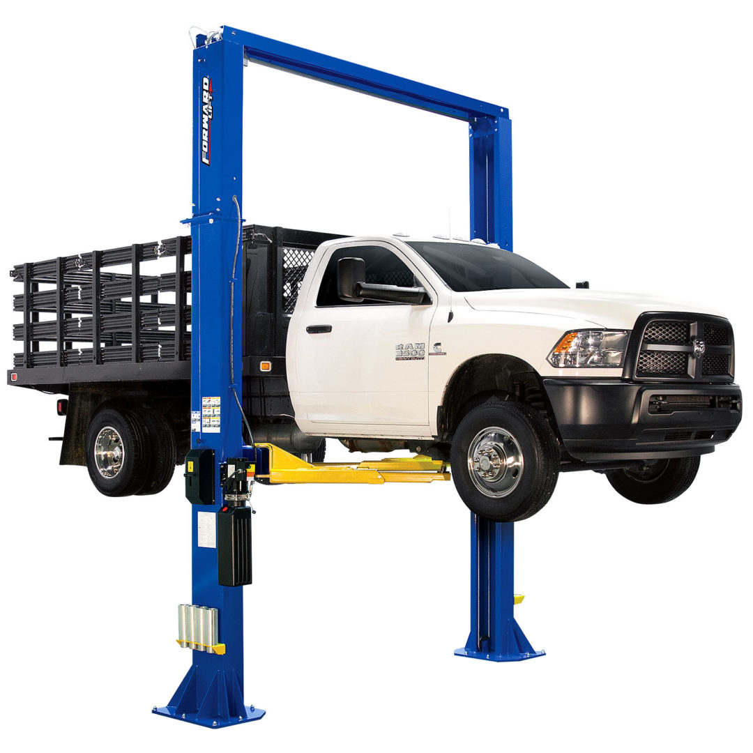 Forward Lift Unveils Two-Post Lift With 18,000-Pound Capacity