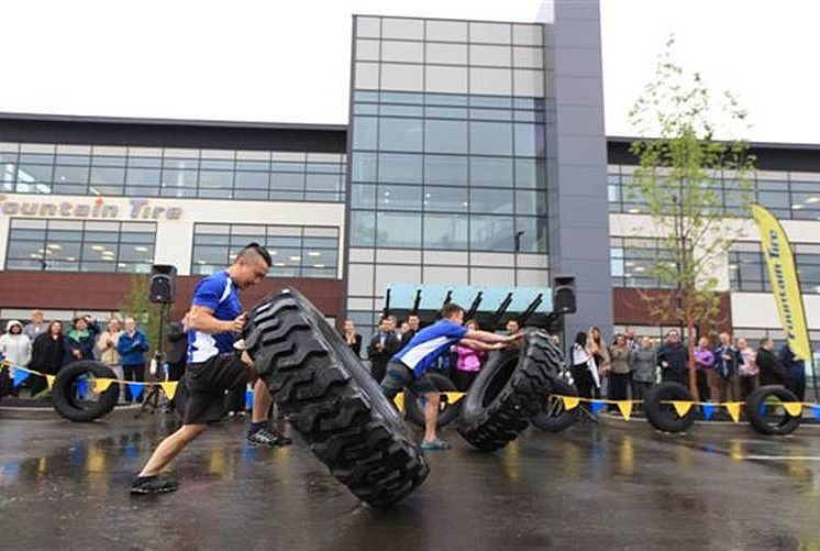 Fountain Tire 'flips' for new headquarters