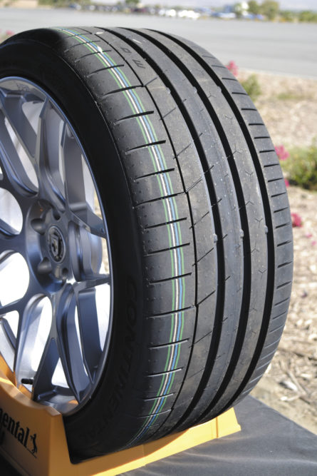 From Track to Street: Continental Gets Help Designing its New UHP Tire