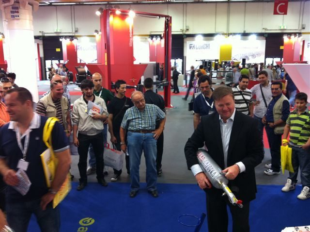 Gaither launches new tools at Autopromotec