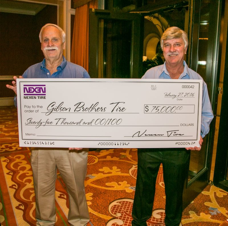 Gibson Brothers Win $75,000 in Nexen's Next Level Sweepstakes