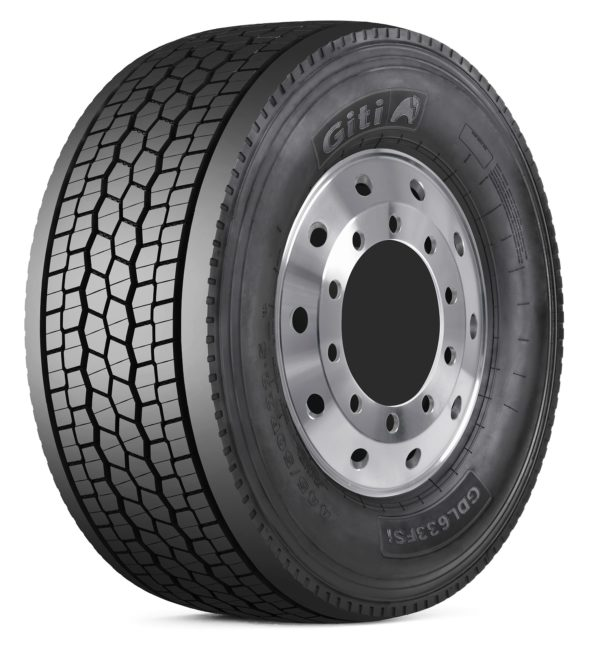 Giti Introduces GDL633 FS Wide-Base Commercial Truck Tire
