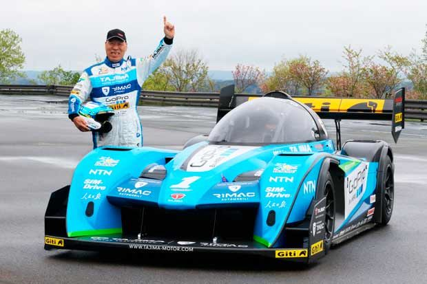 """Giti Tire To Compete At Pikes Peak With """"Monster"""" Tajima's Electric Vehicle"""