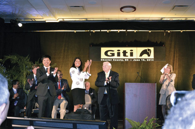 Giti Tire to spend $560 million on its first U.S. plant