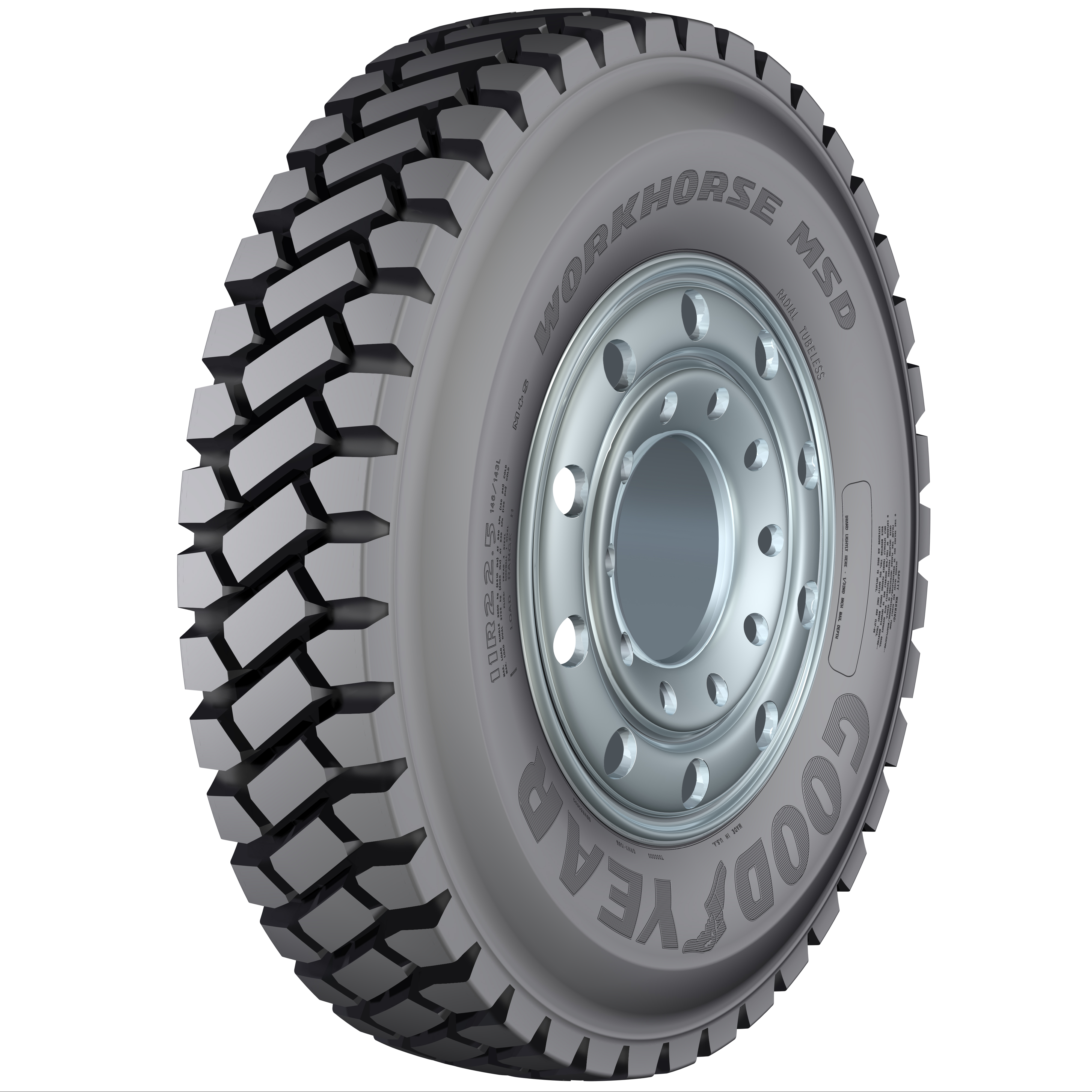 Goodyear Adds Another Mixed-Service Tire Line: the Workhorse