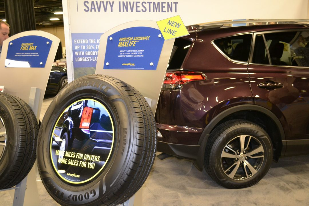 Goodyear Adds Tire With 85,000-Mile Warranty to Assurance Family