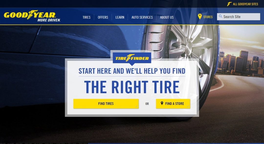 Goodyear begins selling tires online in Chicago
