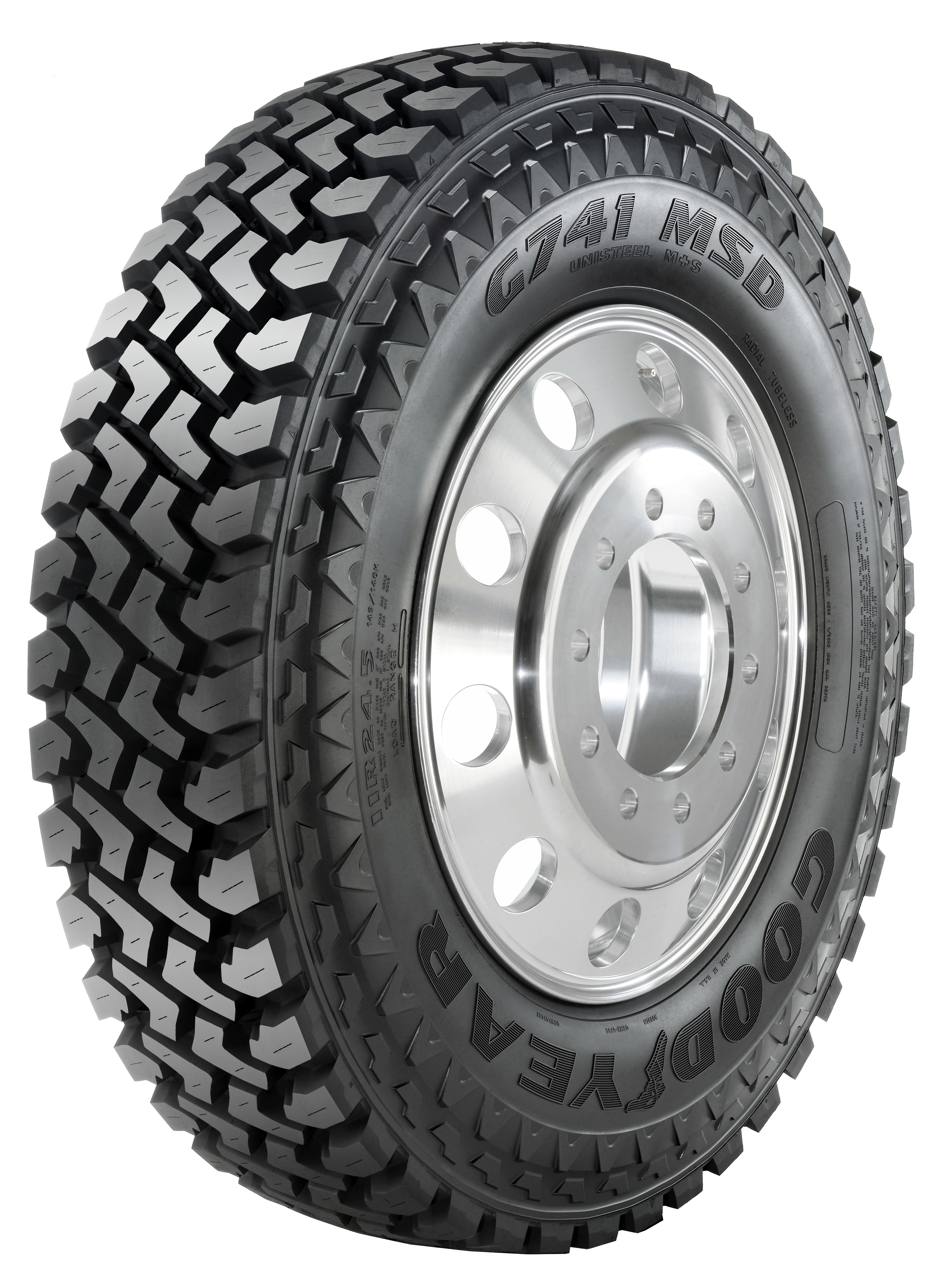 Goodyear broadens mixed-service tire offering