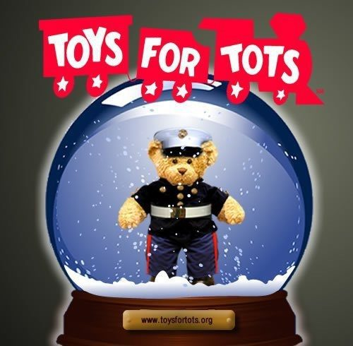 Goodyear collects toys for Toys for Tots