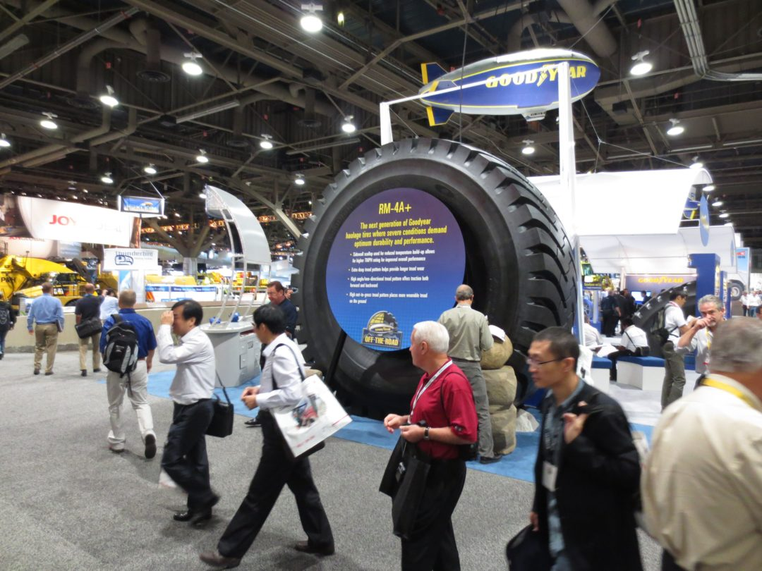 Goodyear Debuts 13-Foot-Wide Off-The-Road Tire
