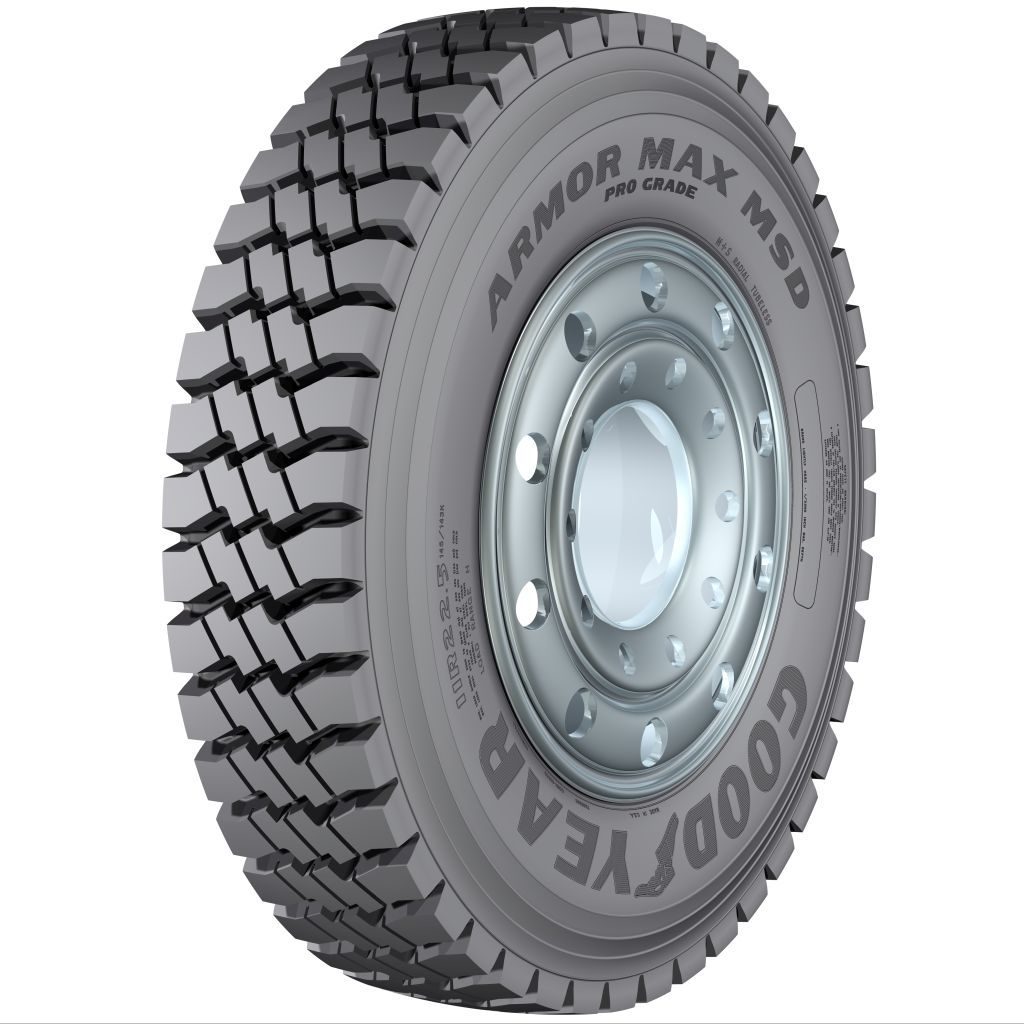 Goodyear Introduces Armor Max Tire Rugged Mixed-Service Applications