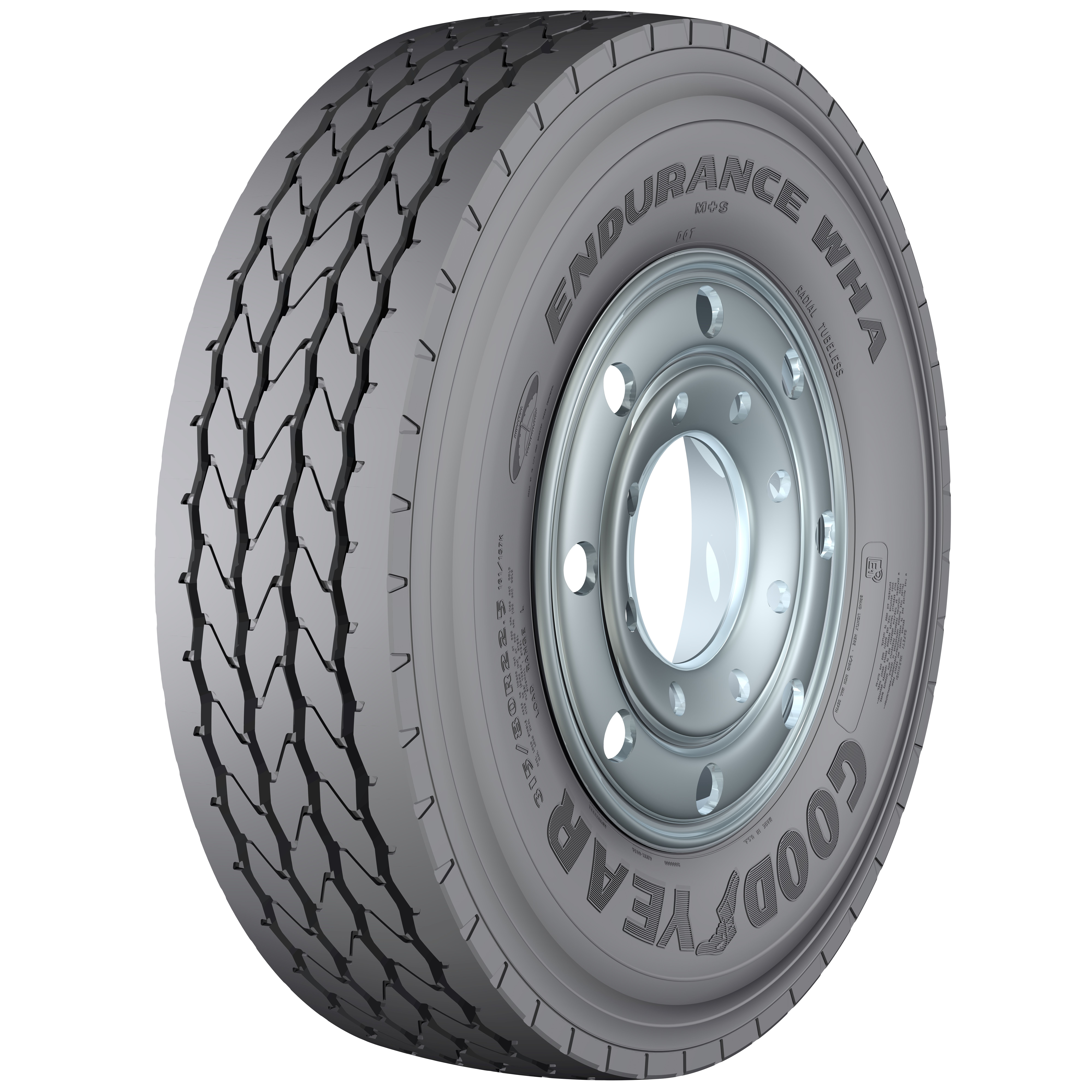Goodyear launches waste haul tire