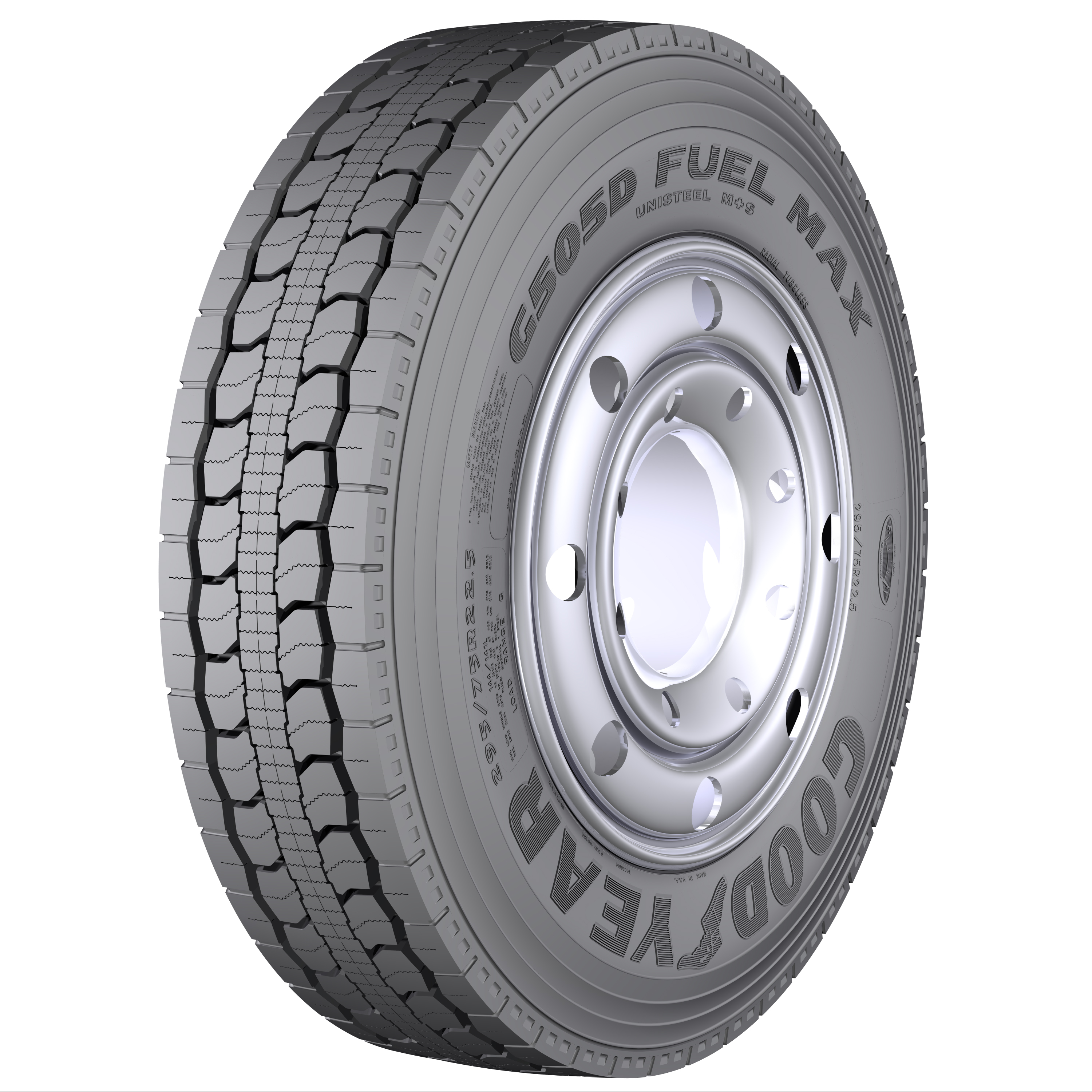Goodyear previews G505D Fuel Max drive tire