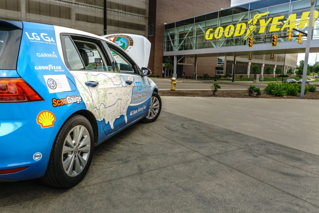 Goodyear rolls into fuel efficient world record