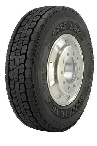 Goodyear's new G572 features a 30-32-inch tread