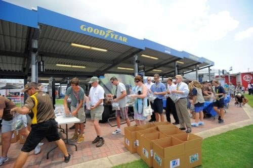 Goodyear salutes the military by giving back