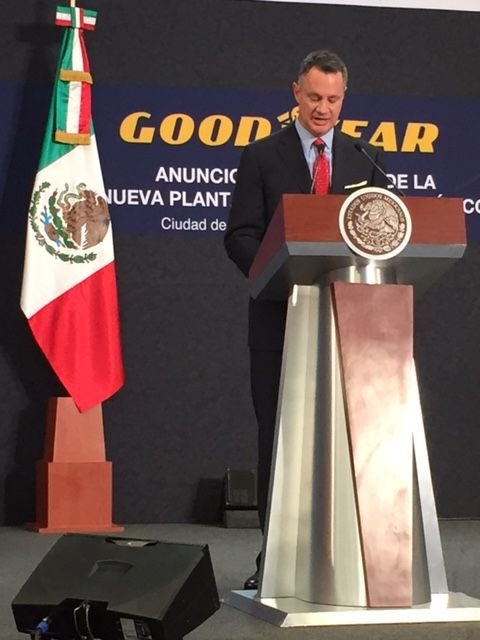 Goodyear seals the deal: $550 million tire factory going to Mexico