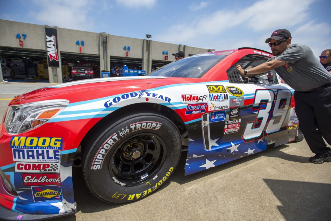 Goodyear supports troops with branded tires