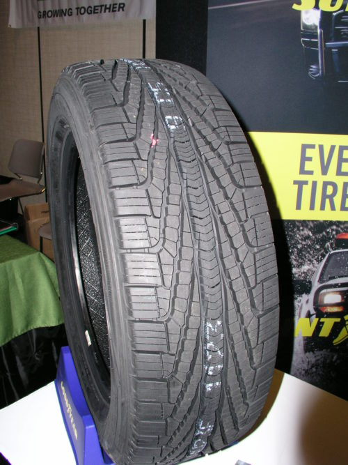 Goodyear targets CUVs and SUVs with new tire