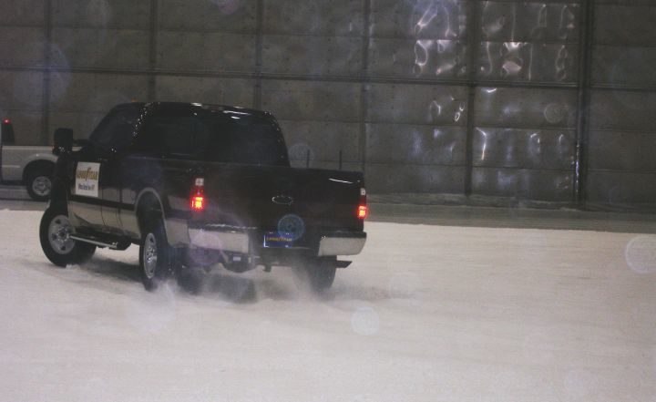 Goodyear tests its new winter tire -- in Florida