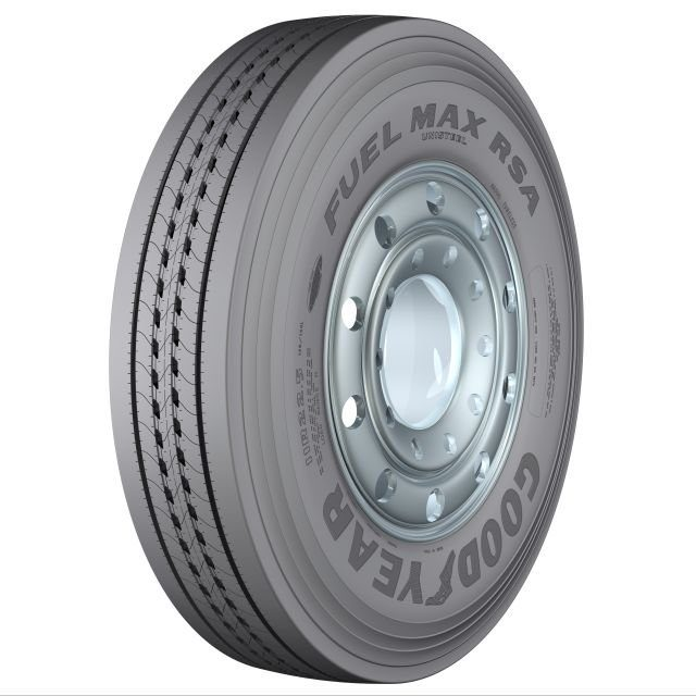 Goodyear Unveils Fuel Max Tire For Regional and Long Haul Fleets