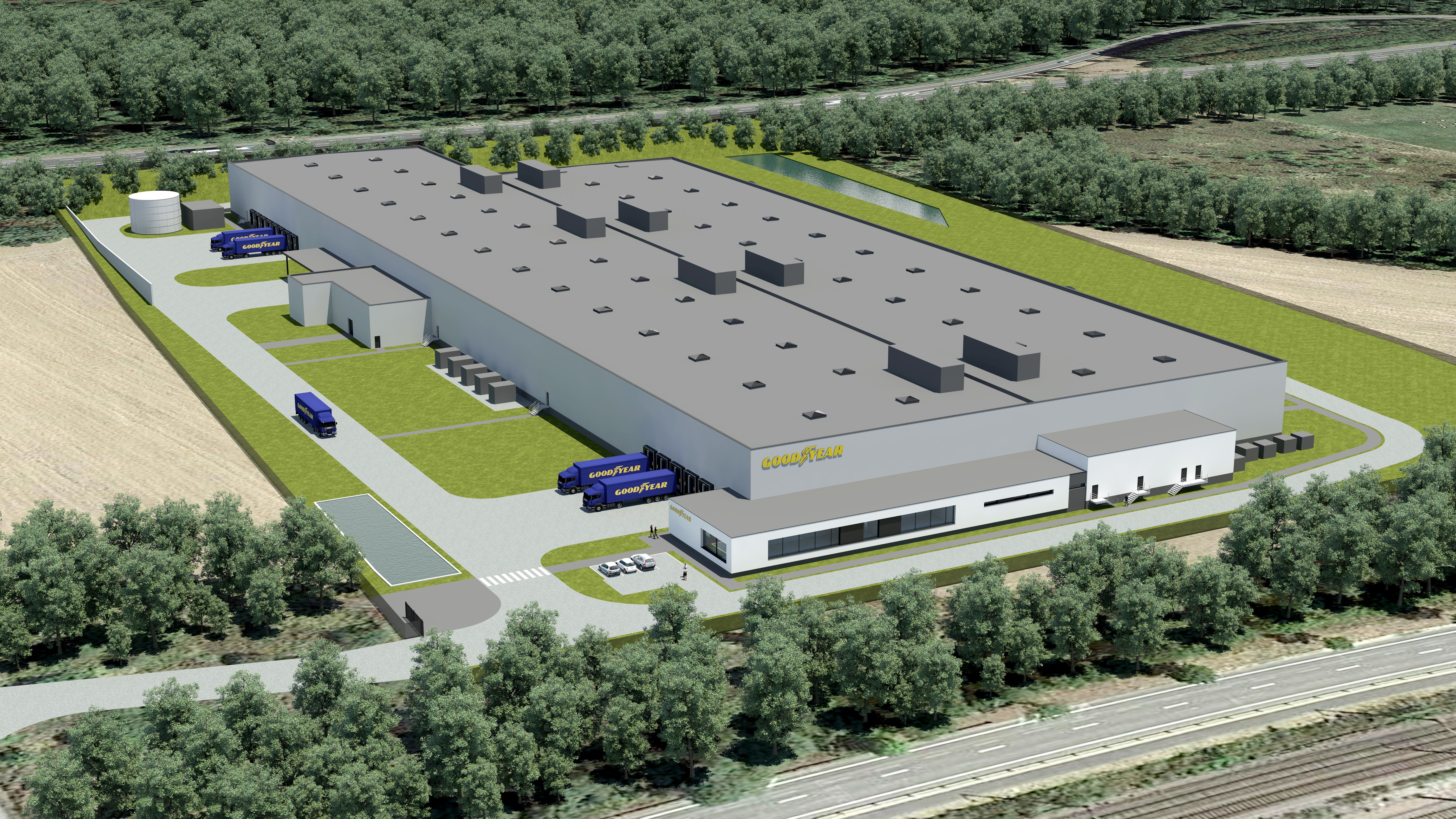 Goodyear Will Build a Highly-Automated Tire Plant in Luxembourg