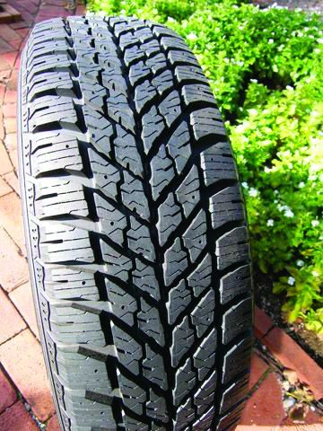 Goodyear Winter Tire Has Enhanced Traction