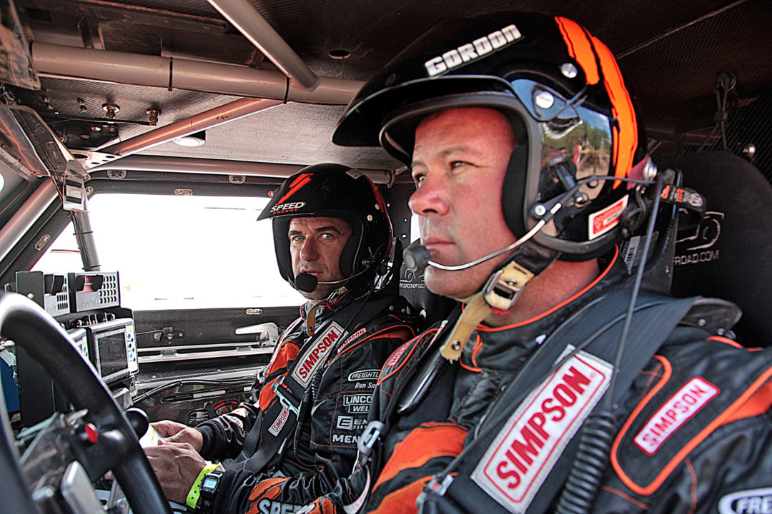 Gordon and Toyo charge to second overall in stage 8 of the Dakar