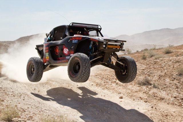 Grabber's withstand the rocky General Tire Mint 400