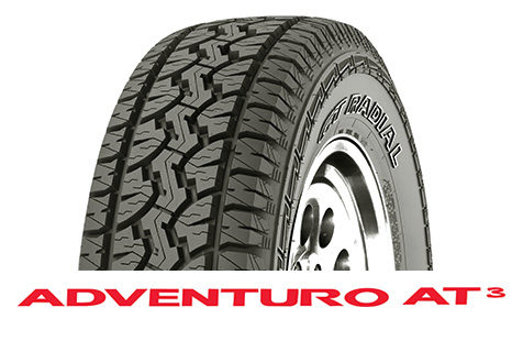 GT Radial Adventuro AT3 now available