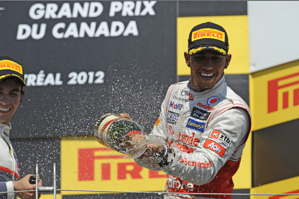 Hamilton becomes seventh winner from seven races