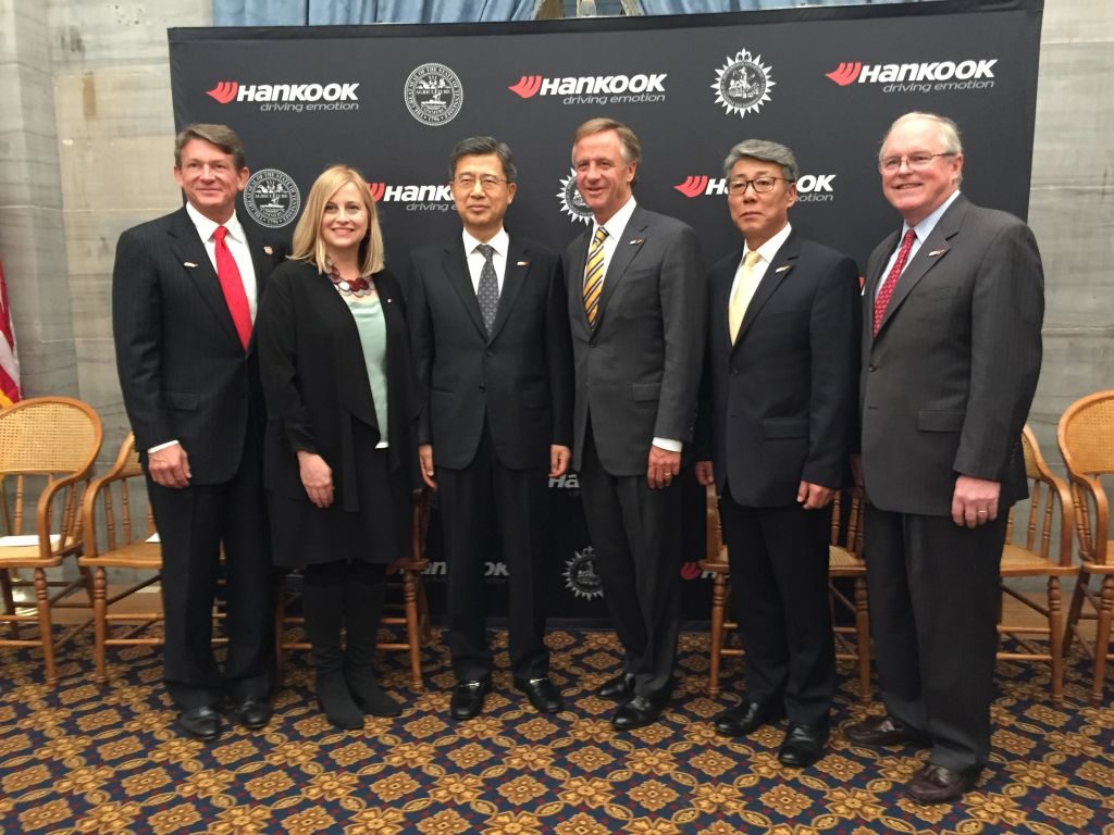 Hankook Chooses Nashville for New North American Headquarters