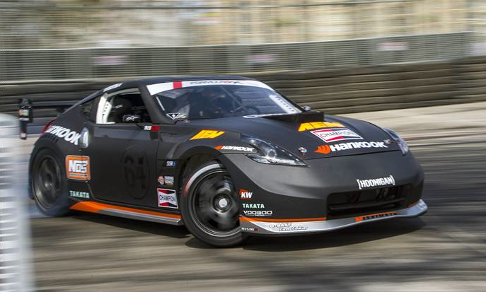Hankook Driver Chris Forsberg wins at Streets of Long Beach