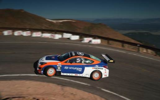 Hankook driver Paul Dallenbach sets world record at Pike's Peak