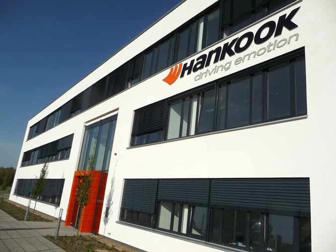 Hankook expands R&D in Europe