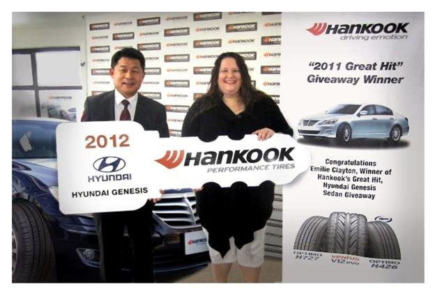 Hankook hands out another 'key' to success