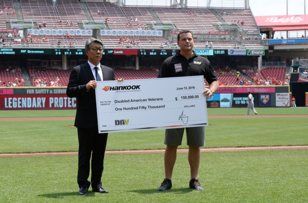 Hankook Increases Support to Disabled American Veterans