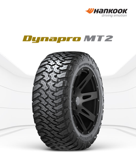 Hankook Introduces Dynapro MT2