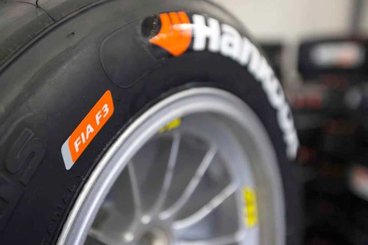 Hankook is the exclusive tire supplier for Formula 3