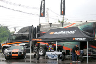 Hankook Mobile Marketing Unit hits the road