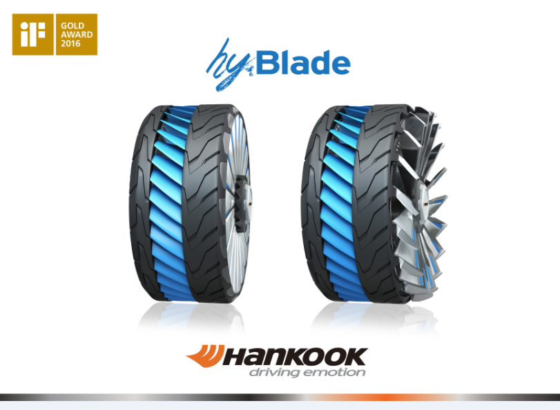 Hankook's Concept Tire Receives Top Honors at International Design Competition