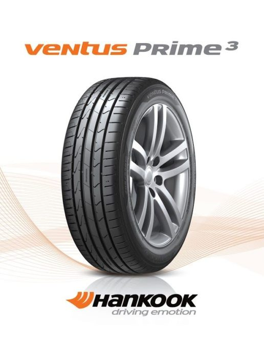 Hankook's newest Ventus tire: the Prime3