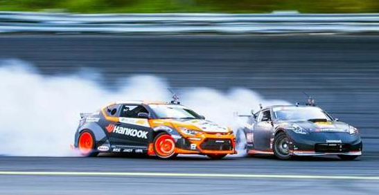 Hankook Tire charges into Formula Drift