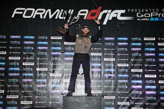 Hankook Tire driver Chris Forsberg wins Formula Drift Pro Series
