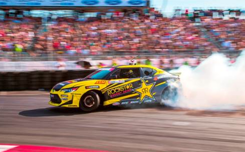 Hankook Tire driver Fredric Aasbo wins at the Streets Of Long Beach