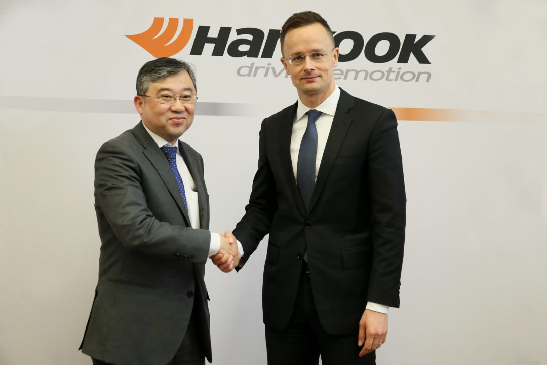Hankook Will Build Truck Tires in Hungary