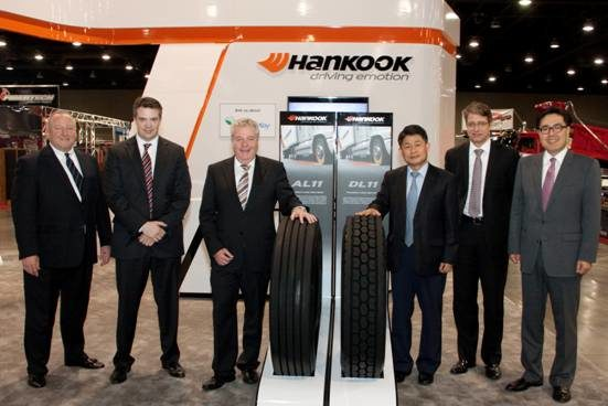 Hankook wins OE contract for Freightliners